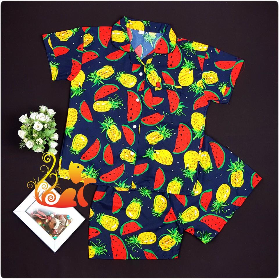 """Bộ Pijama Kate Thái - """"Dưa Hấu và Dứa"""" - Dưới 60kg - 3387071 , 1157923830 , 322_1157923830 , 120000 , Bo-Pijama-Kate-Thai-Dua-Hau-va-Dua-Duoi-60kg-322_1157923830 , shopee.vn , Bộ Pijama Kate Thái - """"Dưa Hấu và Dứa"""" - Dưới 60kg"""