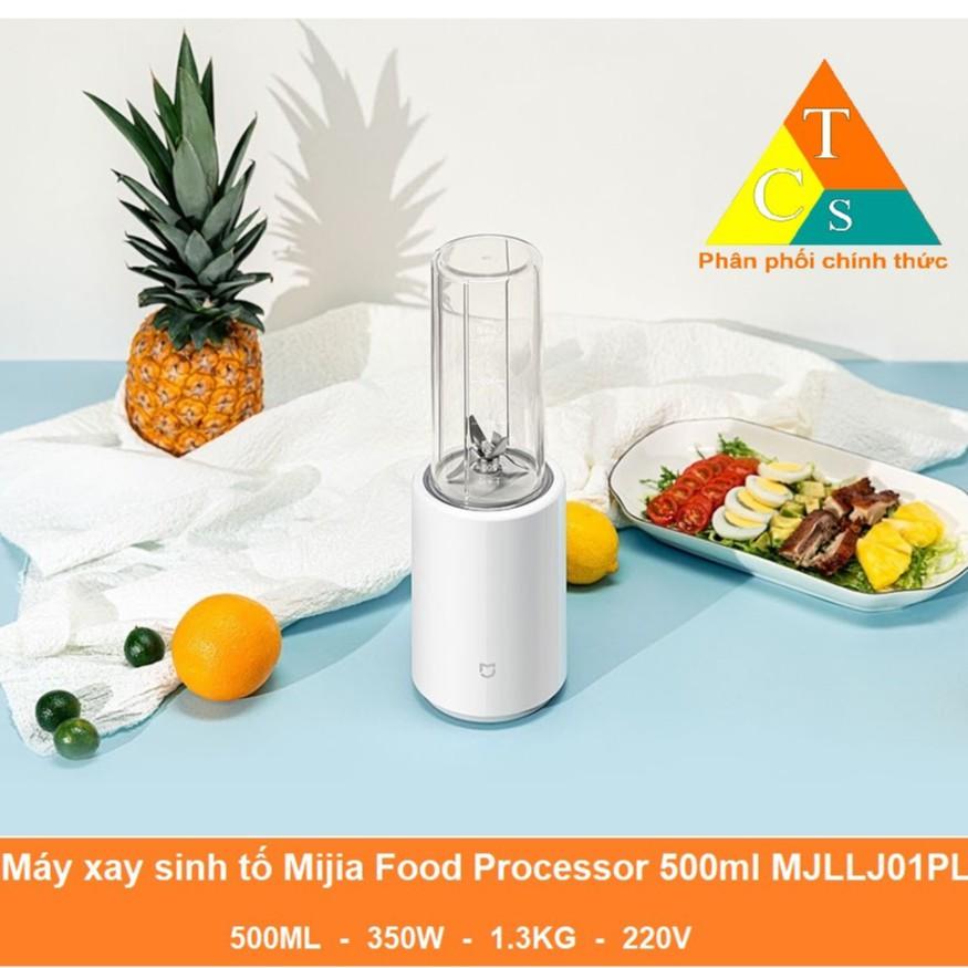 [Mã 267ELSALE hoàn 7% đơn 300K] Máy xay sinh tố Mijia Food Processor 500ml MJLLJ01PL