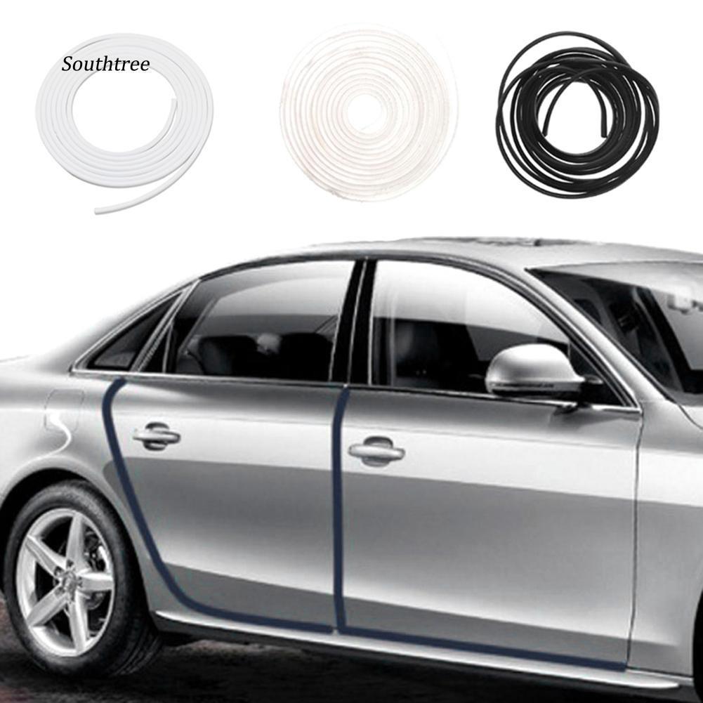 STHE_5M Moulding Trim Strip Car Door Anti-Scratch Protector Edge Soft Guard Cover