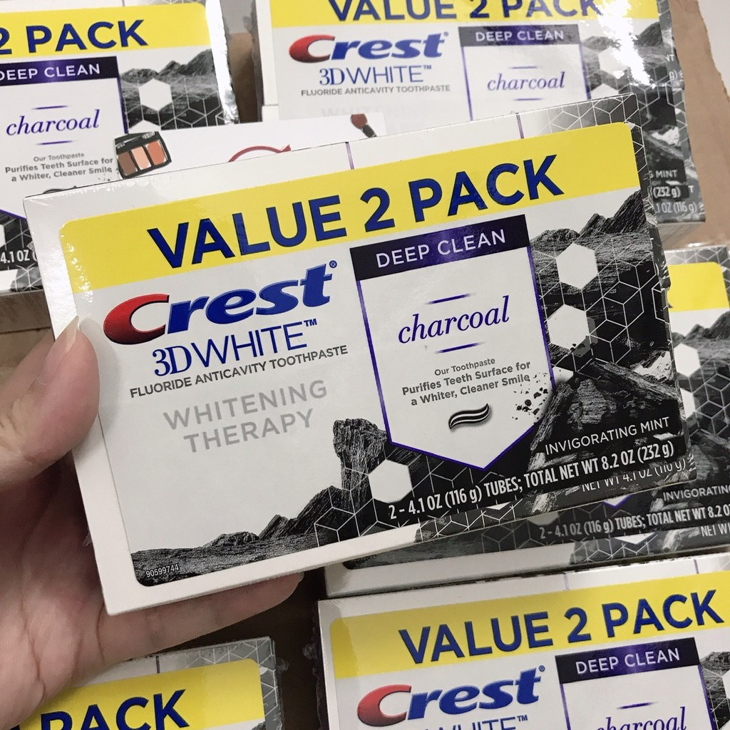 🇺🇸 [Chuẩn Mỹ] Kem đánh răng CREST 3D WHITE 116g các loại