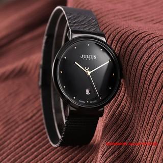 Đồng hồ nam Julius JA426 dây thép đen   Julius Official