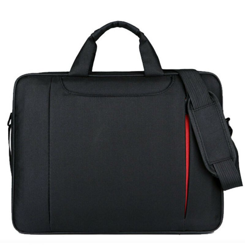 hung 15.6 Inch Ultra-thin Notebook Storage Shoulder Bag Business Travel Carrying Case Handbag for Laptop PC Computer Accessories