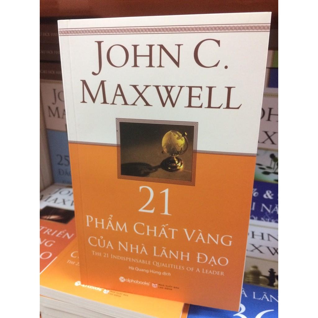 [Sách Thật] 21 Phẩm Chất Vàng Của Nhà Lãnh Đạo - John C. Maxwell - 2778724 , 345764447 , 322_345764447 , 59000 , Sach-That-21-Pham-Chat-Vang-Cua-Nha-Lanh-Dao-John-C.-Maxwell-322_345764447 , shopee.vn , [Sách Thật] 21 Phẩm Chất Vàng Của Nhà Lãnh Đạo - John C. Maxwell