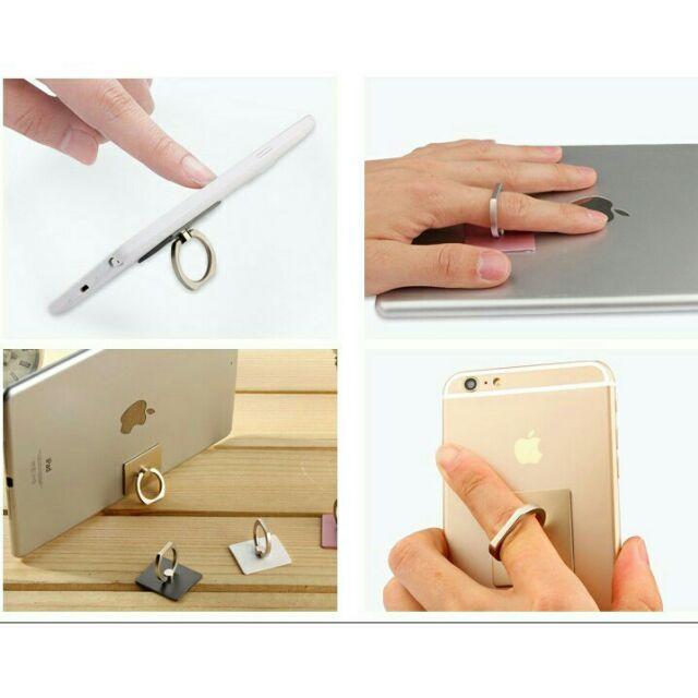 Giá đỡ điện thoại hình chiếc nhẫn(màu ngẫu nhiên)