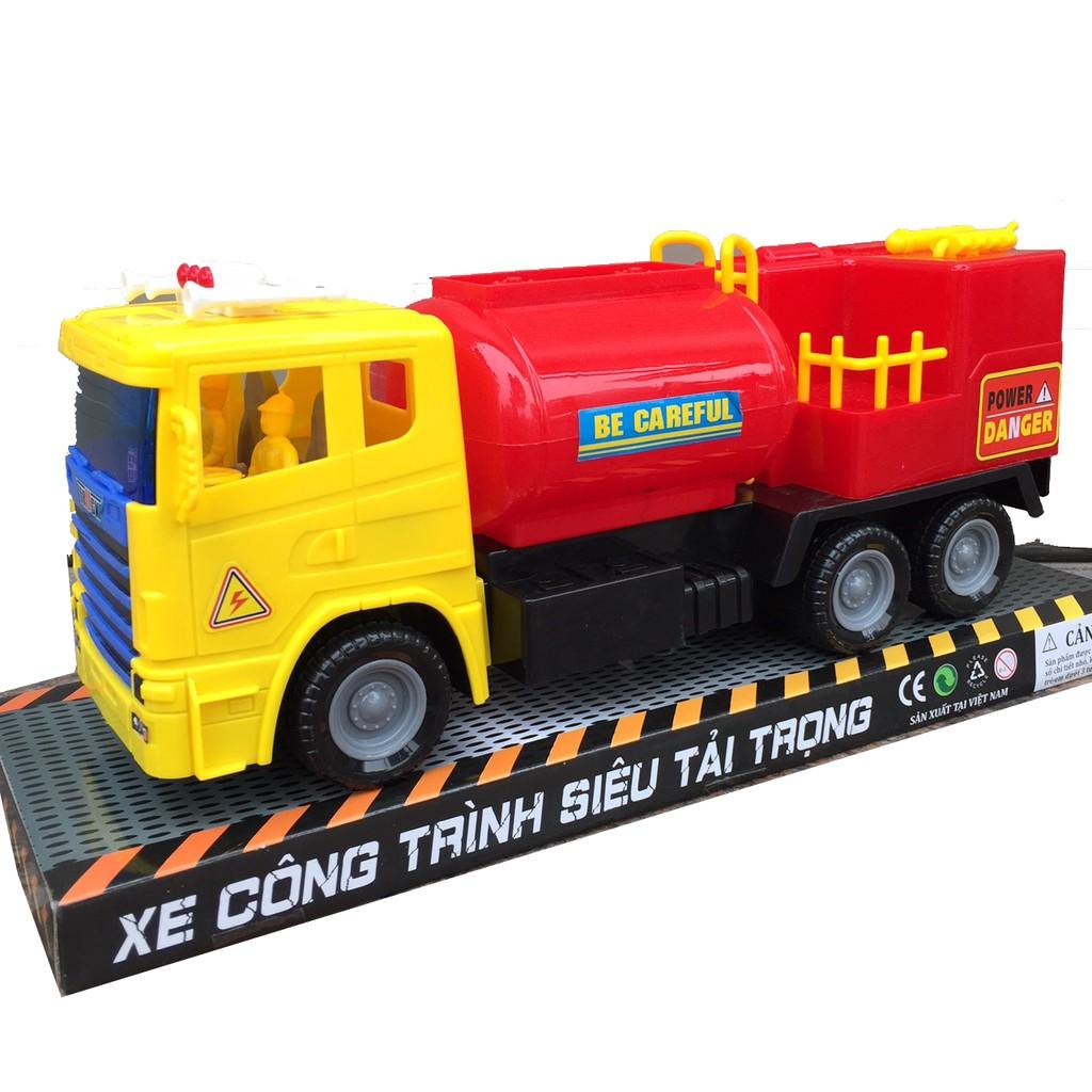 (Hàng VN) Xe ô tô cứu hỏa loại lớn 38cm x 15cm