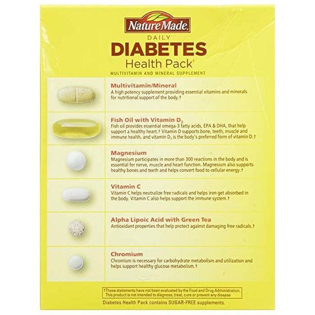 Thực phẩm chức năng Điều Hòa Tiểu Đường Nature Made Diabetes ...