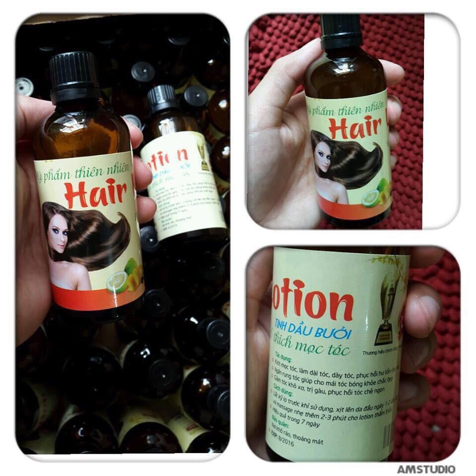 Tinh dầu bưởi dạng xịt chống rụng tóc và kích thích mọc tóc