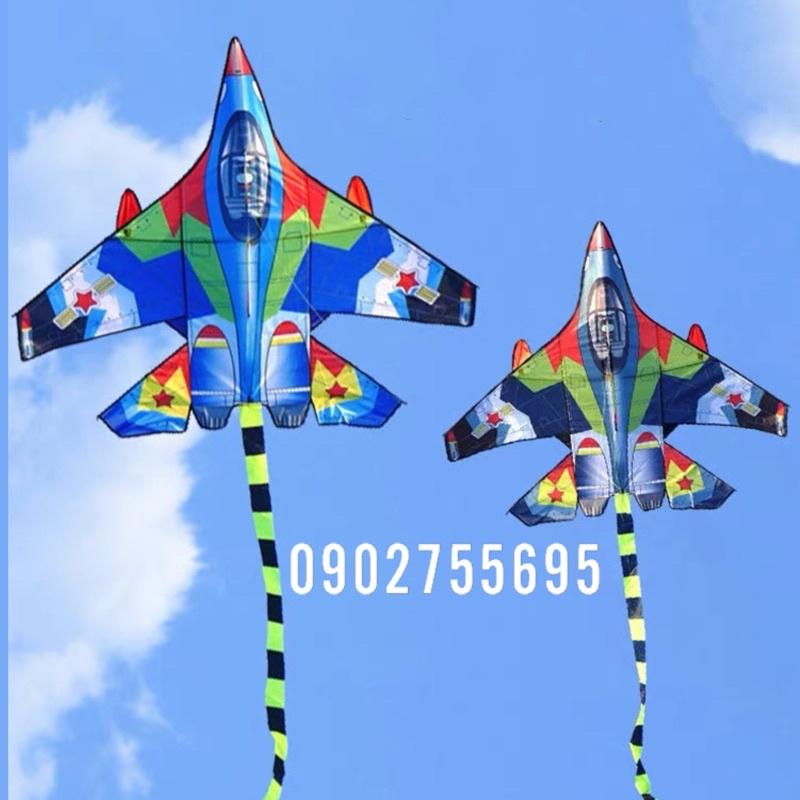[MUA 1 ĐƯỢC 2] Diều máy bay - TẶNG TAY CẦM THẢ DIỀU 150 mét + túi đựng diều (diều đẹp, diều giá rẻ, diều thả)