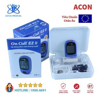 [CHÍNH HÃNG] MÁY ĐO ĐƯỜNG HUYẾT ON CALL EZ II - Đo tiểu đường - Phát hiện tiểu đường thumbnail