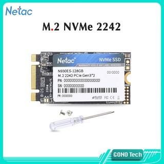 Ổ cứng SSD M2 2242 NVMe 128Gb M.2 PCIe Netac N930ES