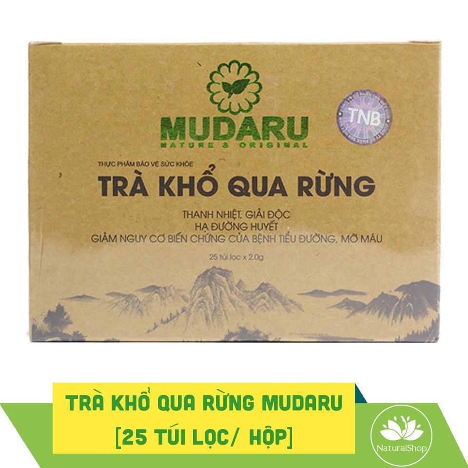 Trà khổ qua rừng Mudaru 25 túi lọc/hộp - 2443042 , 314740885 , 322_314740885 , 119000 , Tra-kho-qua-rung-Mudaru-25-tui-loc-hop-322_314740885 , shopee.vn , Trà khổ qua rừng Mudaru 25 túi lọc/hộp