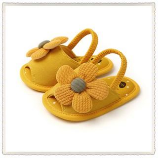 Giày tập đi cho bé mềm mại đính hoa dễ thương cho bé  Giày tập đi cho bé