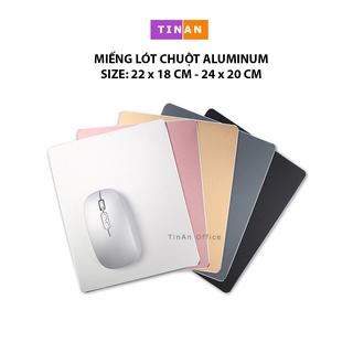 Miếng Lót Chuột Aluminum ( Mouse pad ) - Bàn di chuột nhôm thumbnail