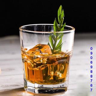 [CHÍNH HÃNG] Bộ 6 cốc ly thủy tinh thái lan đẹp cafe cốt dừa giá rẻ UG-389 (306ml)