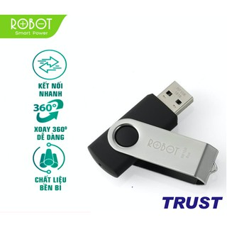 USB 8GB/16GB/32GB ROBOT RF108/RF116/RF332, Tốc Độ Ghi Hơn 6M/S – Tốc Độ Đọc Hơn 10M/S - BẢO HÀNH 36 THÁNG