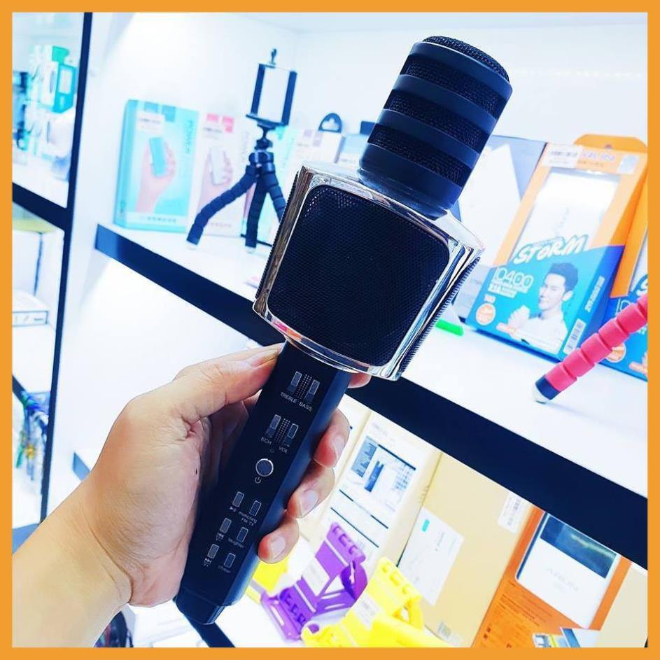 ⚡FREE SHIP⚡ Micro Karaoke SD-17 Mic Hút Nhạc To Bluetooth 3.0b hỗ trợ ghi âm không dây