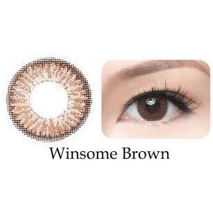 [5 TẶNG 1] Kính giãn tròng Freshkon 1 ngày - Màu Winsome Brown
