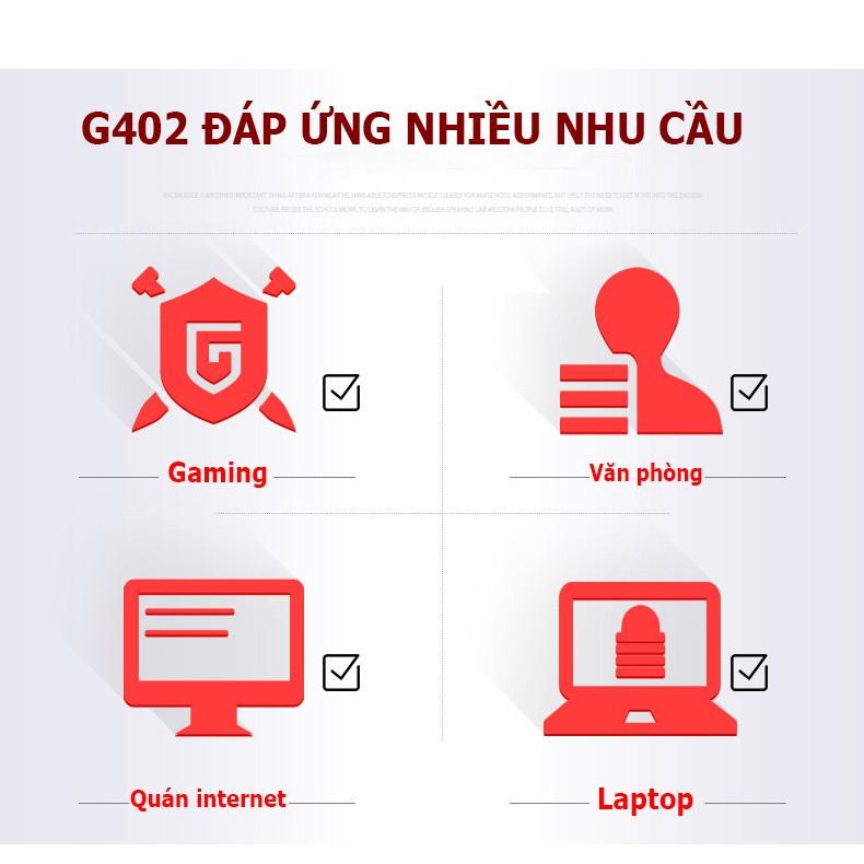 Chuột gaming YINDI-G12, chuột máy tính có dây ,tùy chỉnh DPI 4 cấp độ, dùng cho laptop, máy tính, pc- Bảo hành 6 tháng