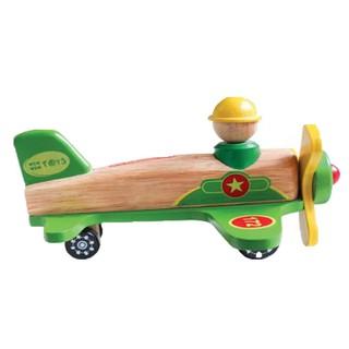 Đồ chơi gỗ Winwintoys - Máy bay quân sự 68262