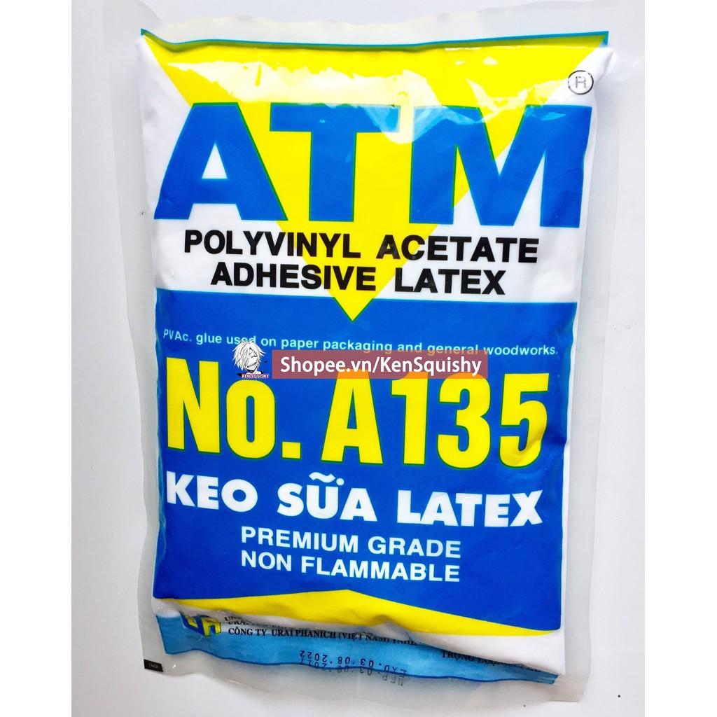 Keo Sữa ATM Nguyên Bịch 1Kg Nguyên Liệu Làm Slime và Squishy Handmade