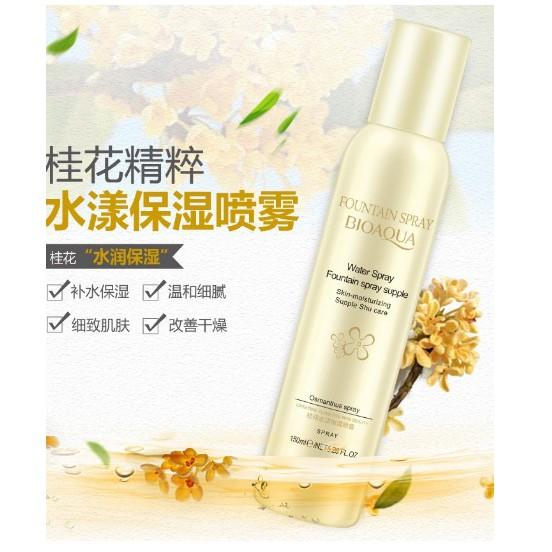 Xịt khoáng Bioaqua Water Spray - 150ml - Lọ màu Vàng
