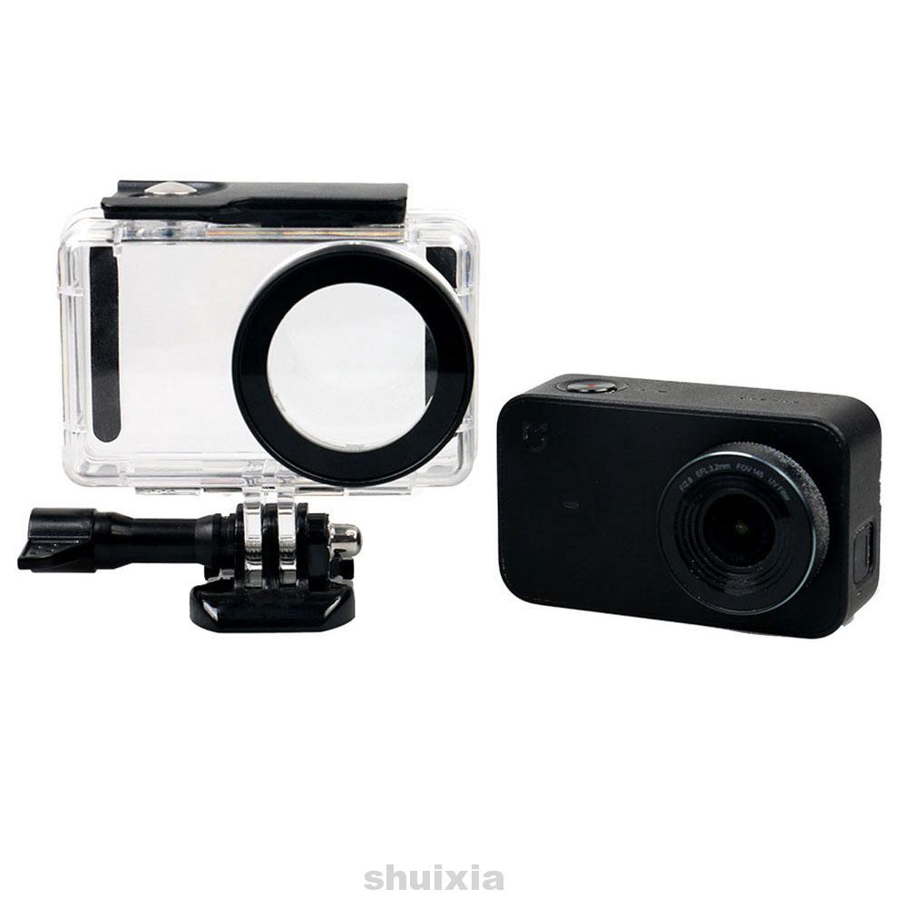 2019 new Camera Shell Underwater Case Diving Waterproof Protective for Xiaomi Yi 4 K Xiaoyi 2 Sports #01