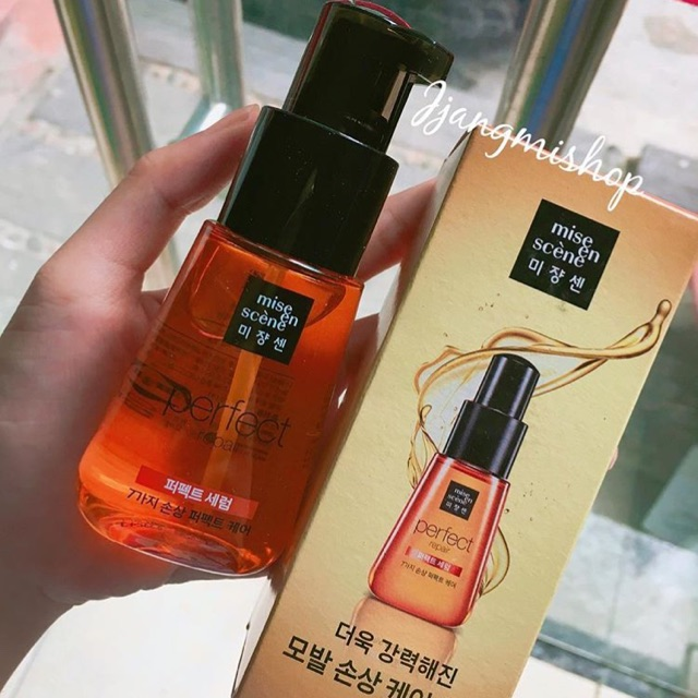 Dưỡng tóc Mise en scene Damage Hair Care Perfect Serum