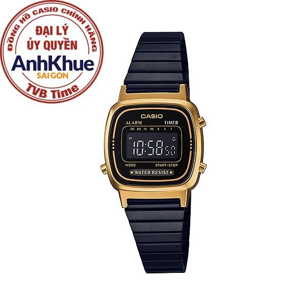Đồng hồ nữ dây kim loại Casio Standard chính hãng Anh Khuê LA670WEGB-1BDF