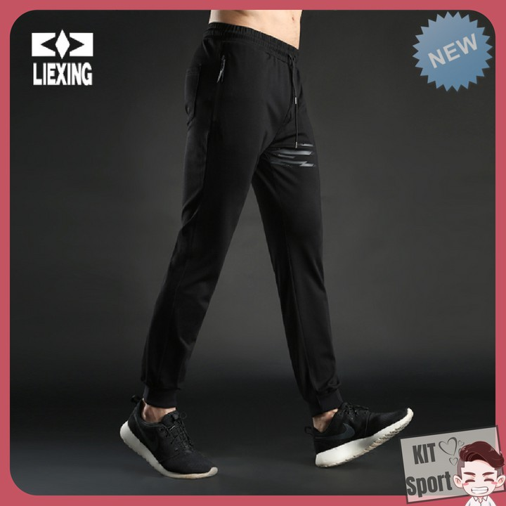 Quần thể thao nam Y7019 LieXing (Quần Jogger dài)- Cửa hàng phân phối KIT Sport