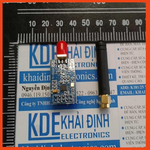 [Rẻ Nhất] MODULE RF CC1101 + ANTEN RỜI, ÁP 3.3V, CỰC KỲ ỔN ĐỊNH, 100M kde0057 Rẻ Nhất.
