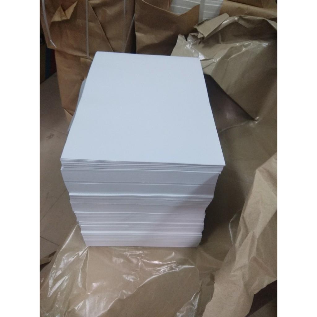 100 tờ Giấy Couche matt DL150gsm khổ A4 (21x29.7cm)