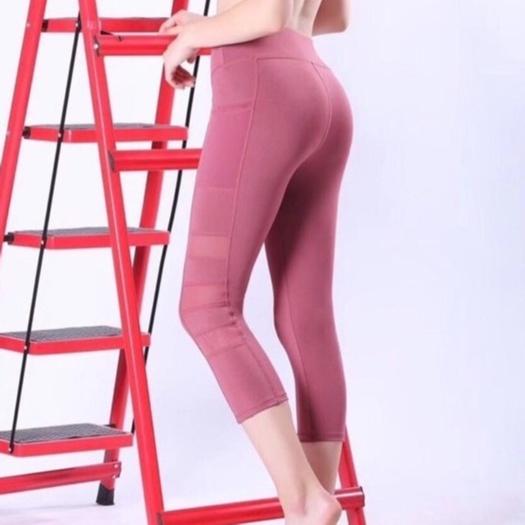Mặc gì đẹp: Thoáng mát với Quần tập gym nữ, quần tập yoga chất liệu thoáng mát_𝐐𝟏𝟏