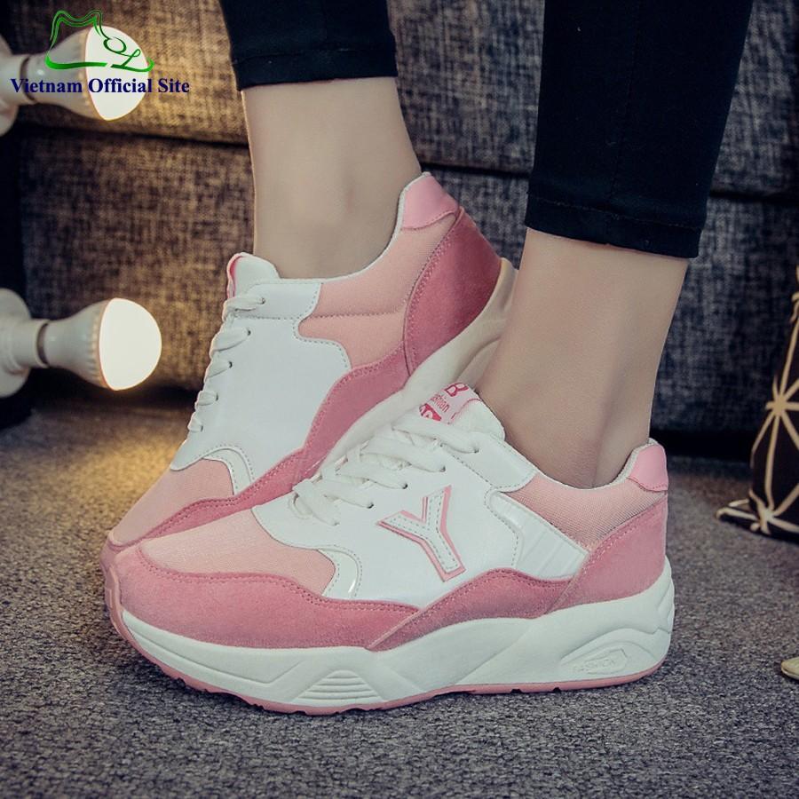 Giày Sneaker Nữ | Giày Bata Nữ LN16P - 3428273 , 1269244682 , 322_1269244682 , 380000 , Giay-Sneaker-Nu-Giay-Bata-Nu-LN16P-322_1269244682 , shopee.vn , Giày Sneaker Nữ | Giày Bata Nữ LN16P