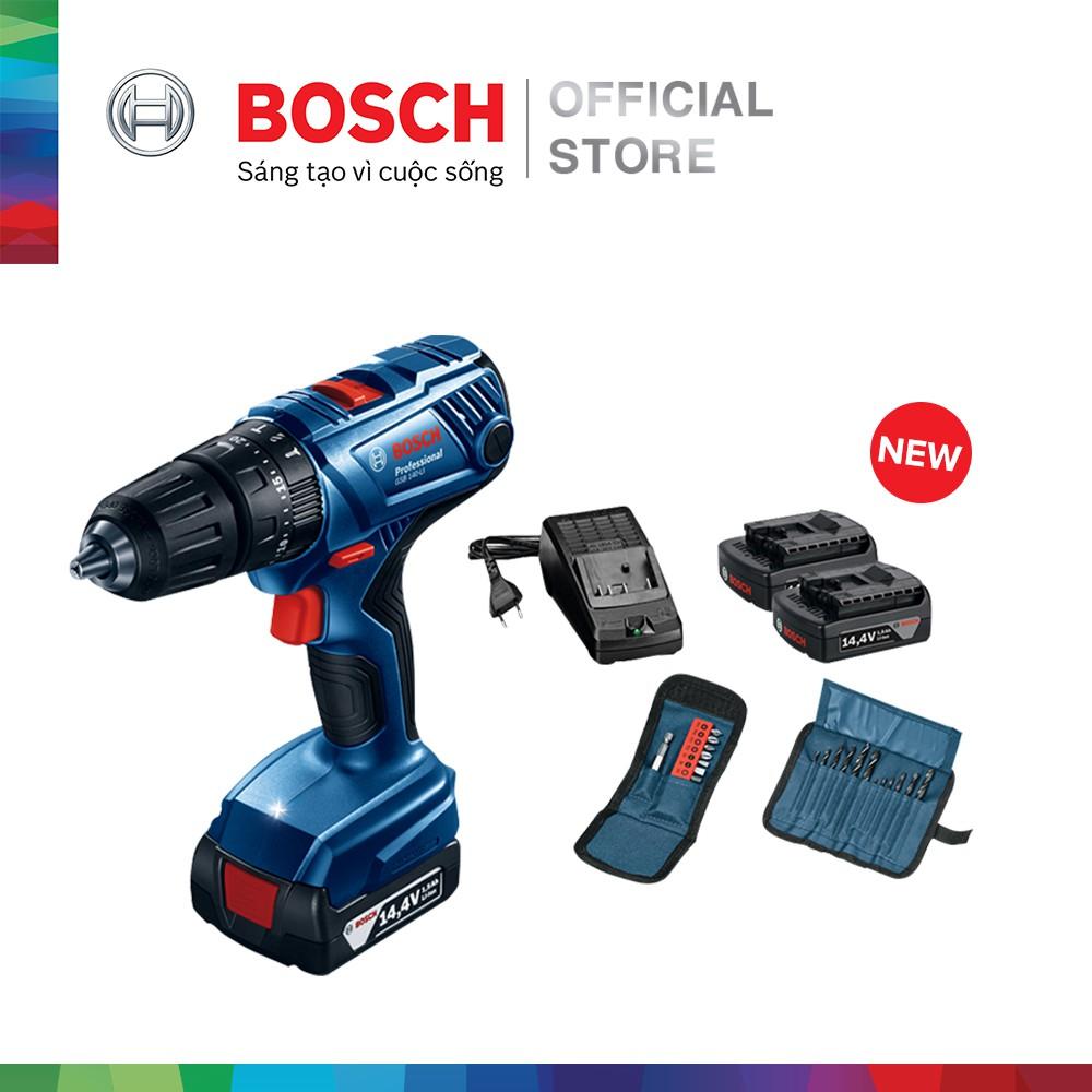 [NHẬP BOSCH10 GIẢM 10%] Máy khoan vặn vít dùng pin động lực Bosch GSB 140-LI + phụ kiện MỚI - 3584945 , 1285081371 , 322_1285081371 , 4260000 , NHAP-BOSCH10-GIAM-10Phan-Tram-May-khoan-van-vit-dung-pin-dong-luc-Bosch-GSB-140-LI-phu-kien-MOI-322_1285081371 , shopee.vn , [NHẬP BOSCH10 GIẢM 10%] Máy khoan vặn vít dùng pin động lực Bosch GSB 140-L
