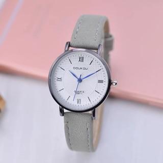 Đồng hồ nữ Doukou chính hãng kim xanh mặt vân 3d siêu hot 2019 thumbnail