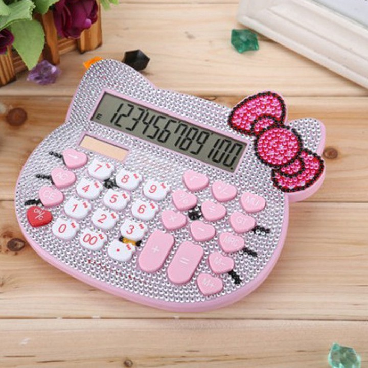 Máy tính tiền Hello Kitty size lớn đính đá cao cấp - 2670482 , 989469807 , 322_989469807 , 200000 , May-tinh-tien-Hello-Kitty-size-lon-dinh-da-cao-cap-322_989469807 , shopee.vn , Máy tính tiền Hello Kitty size lớn đính đá cao cấp