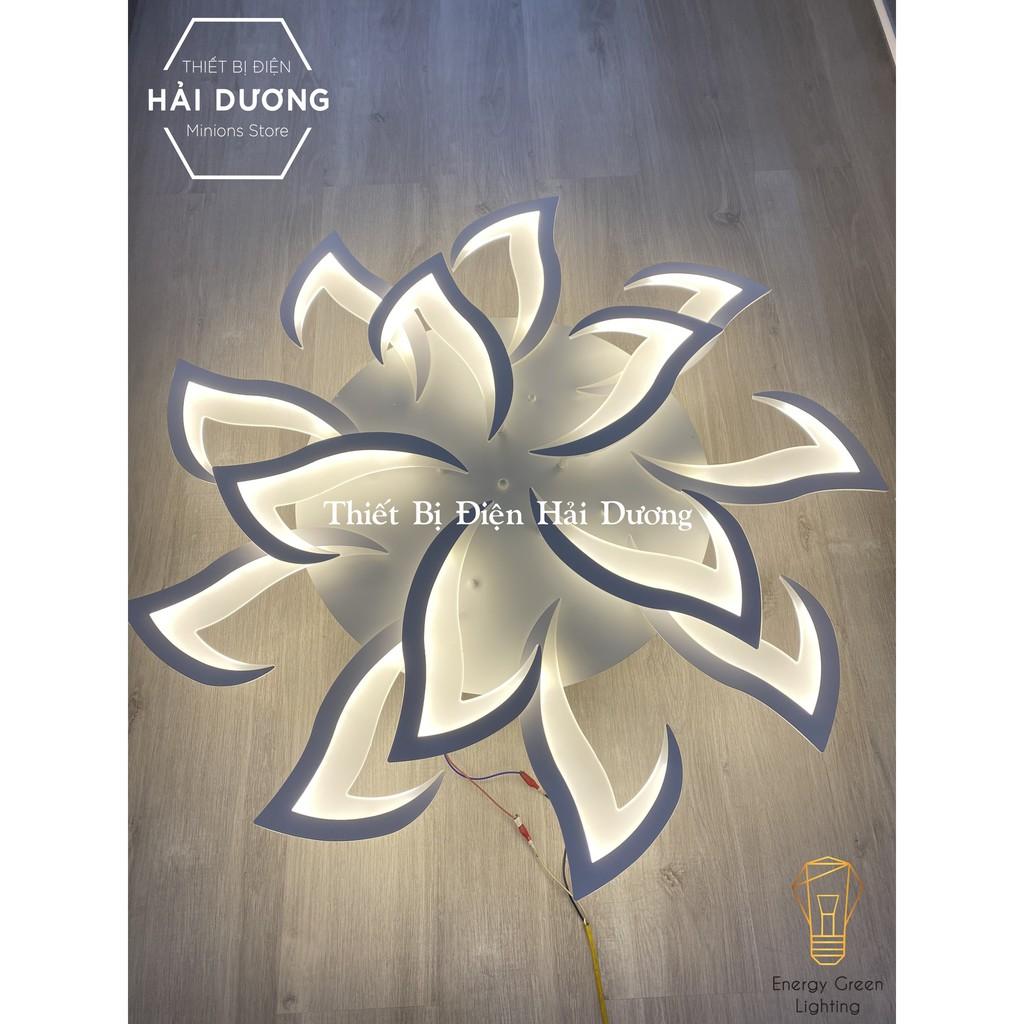 Đèn Ốp Trần Hiện Đại Decor 14 Tay NT-038 - 3 Chế Độ Ánh Sáng -Tăng Giảm Ánh Sáng - Điều Khiển Từ Xa - Kết Nối ĐiệnThoại