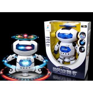 Đồ chơi robot thông minh xoay 360