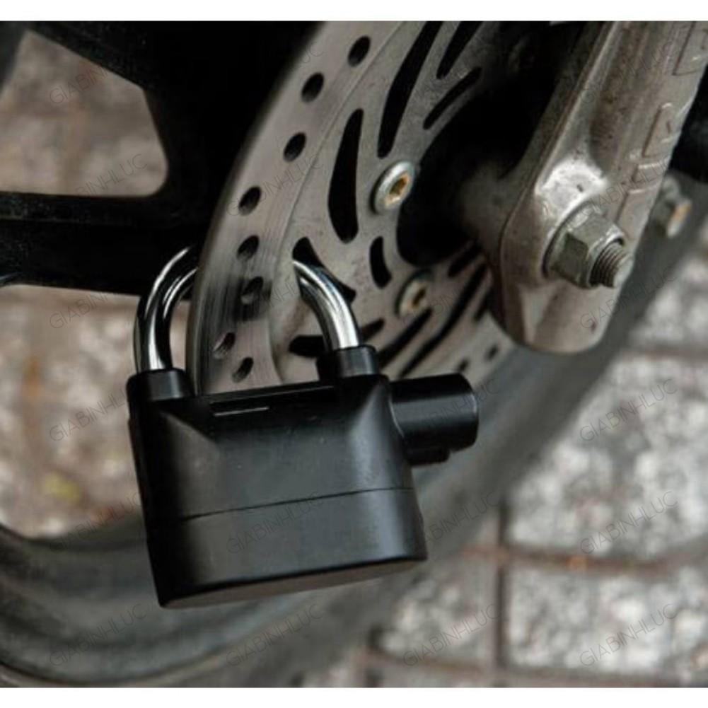 Khóa chống trộm có chuông báo động Kinbar khóa chống trộm chống nước chống va đập khóa chống trộm xe máy chính hãng