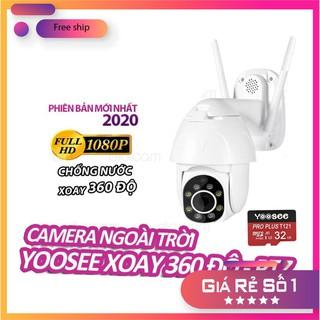 [Bán Sỉ – FreeShip] Camera IP YooSee Xoay 360 độ PTZ – Cao cấp Full HD – Kèm thẻ nhớ 32gb