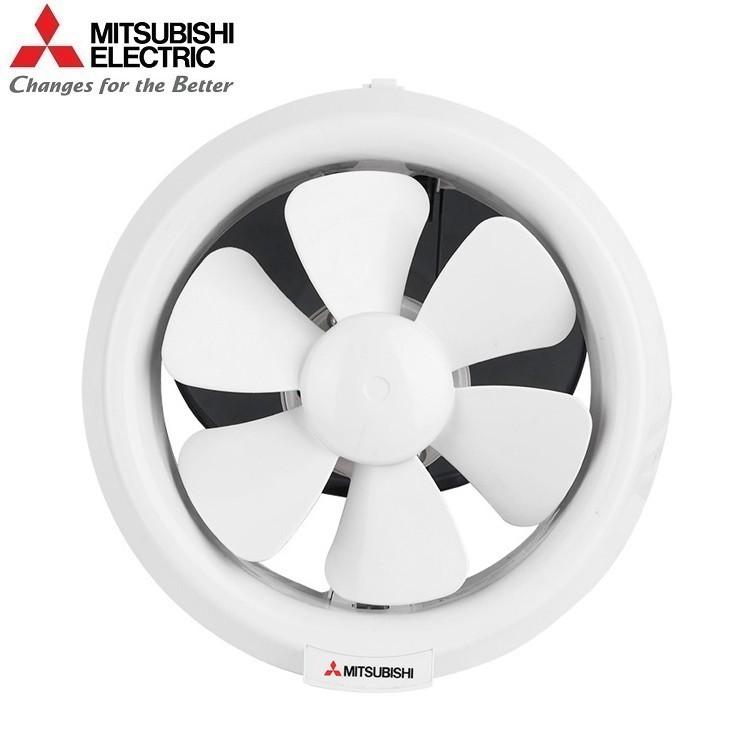[Mã ELMA300 Giảm 10% đơn 250K]Quạt hút thông gió ốp kính Mitsubishi V-15SL3T