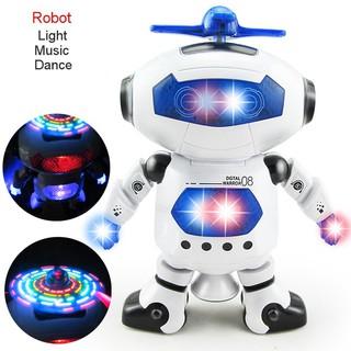 Đồ chơi robot thông minh nhảy múa có đèn và nhạc