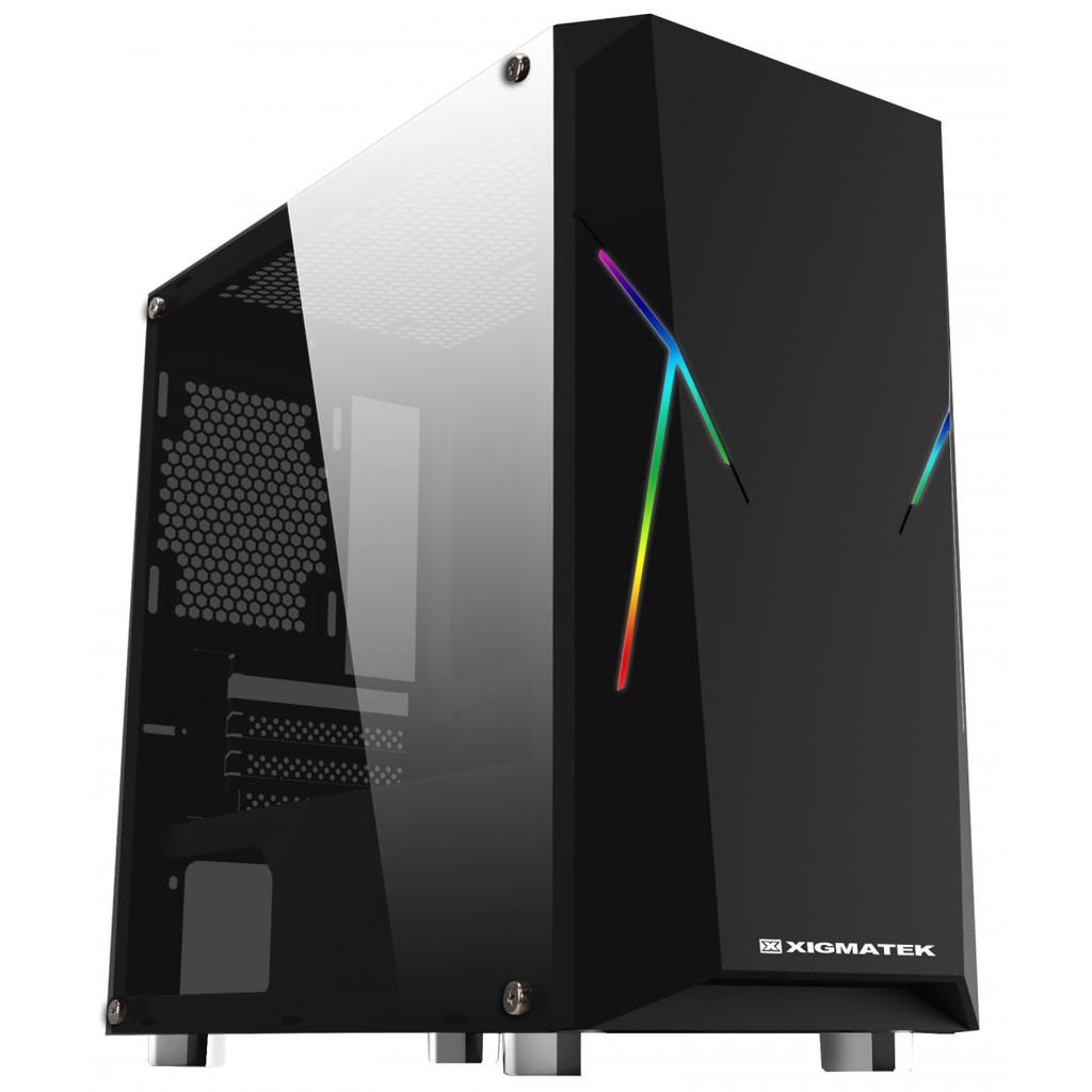 Vỏ máy tính XIGMATEK ARES (EN42784) – PREMIUM M-ATX, RGB STRIP chính hãng Mai Hoàng Giá chỉ 560.000₫