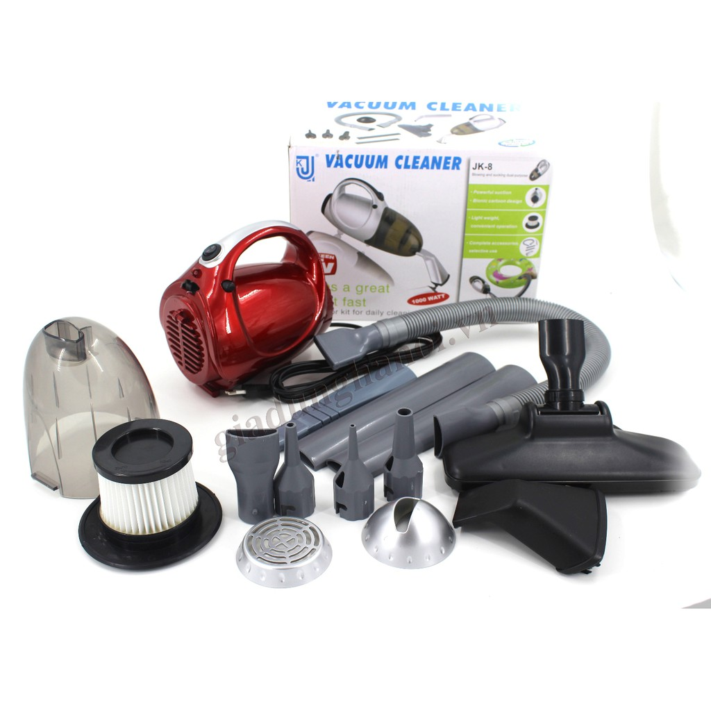 Máy hút bụi cầm tay 2 chiều Vacuum Cleaner JK 8 (Đỏ) - 2983945 , 1026852853 , 322_1026852853 , 380000 , May-hut-bui-cam-tay-2-chieu-Vacuum-Cleaner-JK-8-Do-322_1026852853 , shopee.vn , Máy hút bụi cầm tay 2 chiều Vacuum Cleaner JK 8 (Đỏ)
