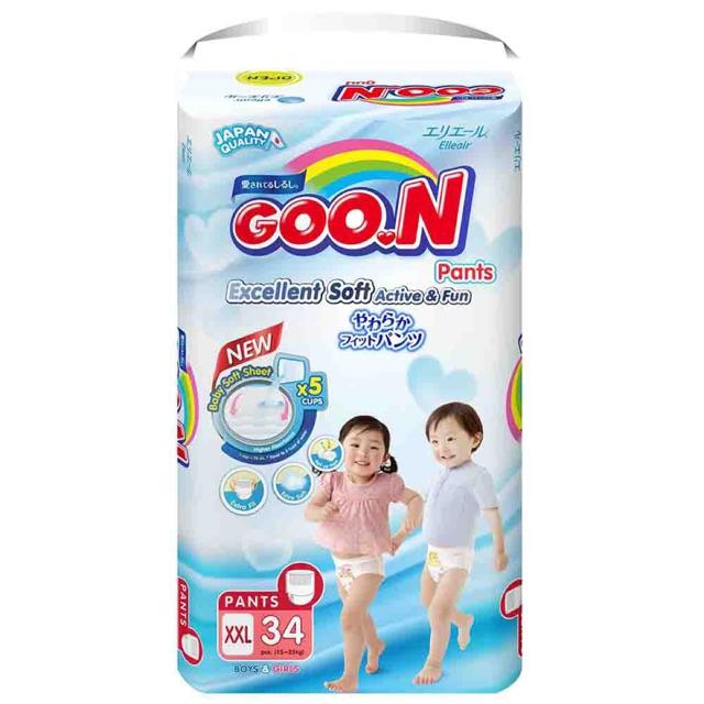 (KHÔNG QUÀ) Tã quần GOON SLIM JUMBO XXL34 hàng nhập khẩu thailand, nguyên bao bì - 3210379 , 1024367357 , 322_1024367357 , 355000 , KHONG-QUA-Ta-quan-GOON-SLIM-JUMBO-XXL34-hang-nhap-khau-thailand-nguyen-bao-bi-322_1024367357 , shopee.vn , (KHÔNG QUÀ) Tã quần GOON SLIM JUMBO XXL34 hàng nhập khẩu thailand, nguyên bao bì
