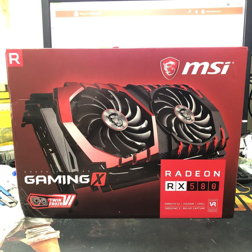 VGA RX560, RX570, RX580, MSI, Shaphire Nitro, Power color, Biostar, card màn hình rx560, rx570, rx580 giá rẻ