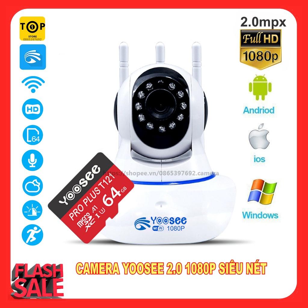 Combo Camera IP YooSee Tiếng Việt Và Thẻ Nhớ 32Gb Yoosee Chuyên