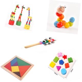 Bộ đồ chơi kích thích trí não cho bé