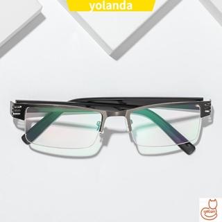☆YOLA☆ Ultralight Presbyopic Eyewear Resin Reading Glasses Anti-blue Light Eyeglasses Vision Care Men Women Fashion Retro Classic Radiation Protection Computer Goggles