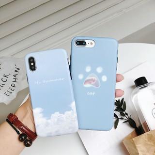 Cloud Cat Claw Soft TPU Case iPhone X Slim Protective Cover iPhone 8 7 6 6S Plus